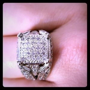 Cz ring (unisex)